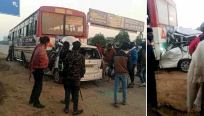 4 killed, 1 injured in Yamuna Expressway accident in Greater Noida