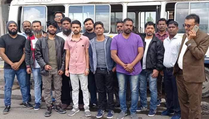 14 Indian nationals detained in Yemen's capital Sana'a for long finally set free