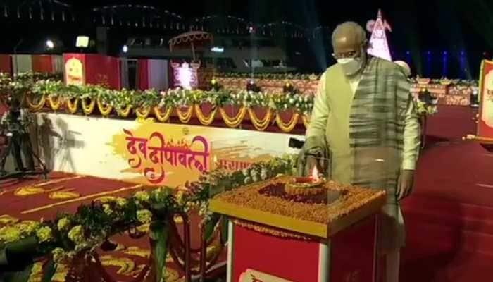 PM Narendra Modi participates in Dev Deepawali Mahotsav in Varanasi, congratulates Kashi for getting back stolen Mata Annapurna's idol