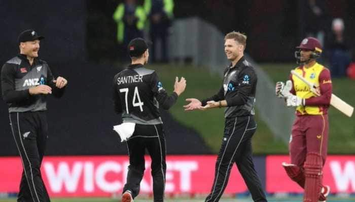 New Zealand win T20I series against West Indies 2-0 as final game gets abandoned due to rain