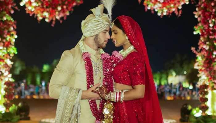 On Priyanka Chopra and Nick Jonas' second anniversary, scroll through their wedding album here