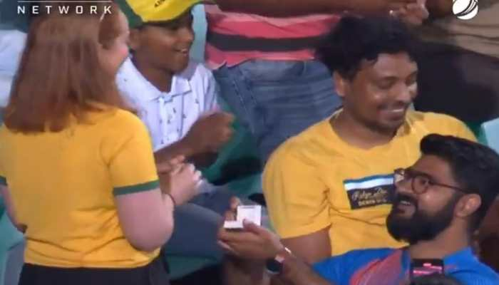 Meet Dipan and Rose! The couple who went viral during India's 2nd ODI against Australia