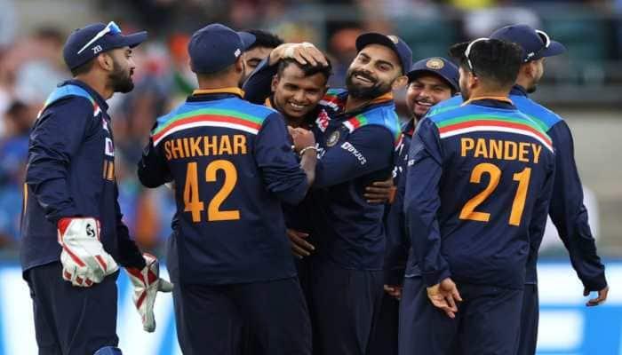 Australia vs India 3rd ODI, WATCH: T Natarajan takes maiden international wicket in this emotional video!