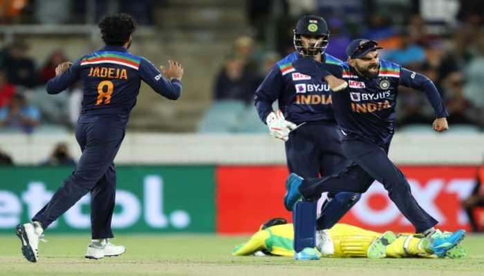 3rd ODI: Hardik Pandya, Ravindra Jadeja heroics steer India to 13 run win over Australia, avoid whitewash