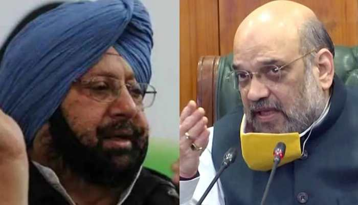 Punjab CM Amarinder Singh to meet Union Home Minister Amit Shah today ahead of Centre's meet with farmer union leaders