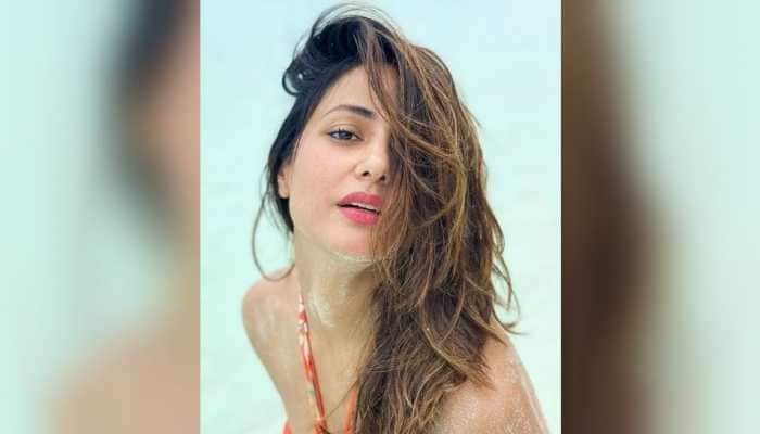 On a sunny day in Maldives, Hina Khan raises the temperature with her bold and beautiful avatar - Check out