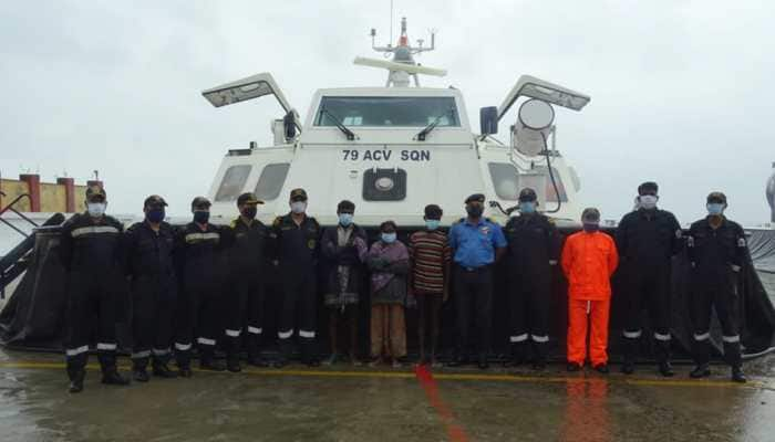 Cyclone Burevi: Indian coast guard rescues fishermen stranded on island; know their story