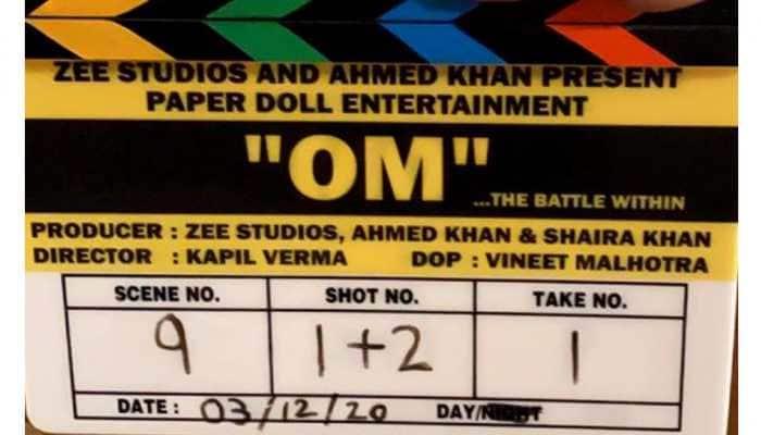 Aditya Roy Kapur begins shooting for new action film ''Om: The Battle Within''