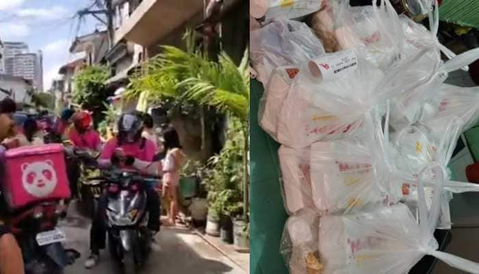 Error 42: Girl orders food online, app glitch results in over 30 delivery boys at her doorstep