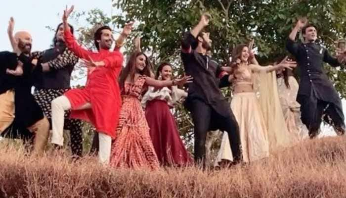 Surbhi Chandna and Ssharad Malhotra share a fun video from the set of 'Naagin 5'