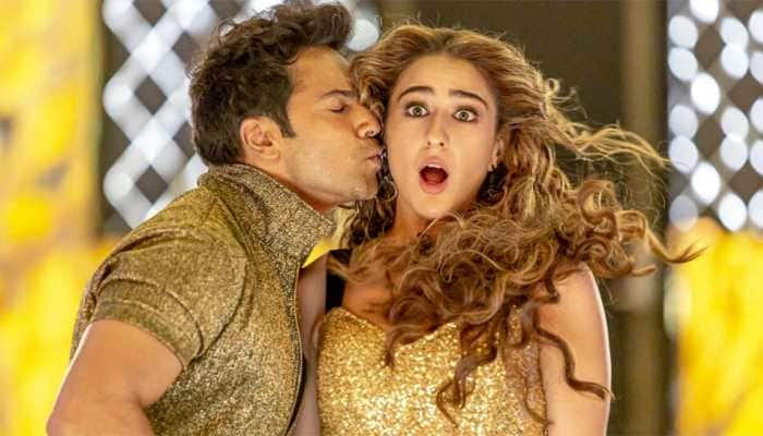 Sara Ali Khan, Varun Dhawan's 'Husn Hai Suhana' song from 'Coolie No.1' trends online - Watch