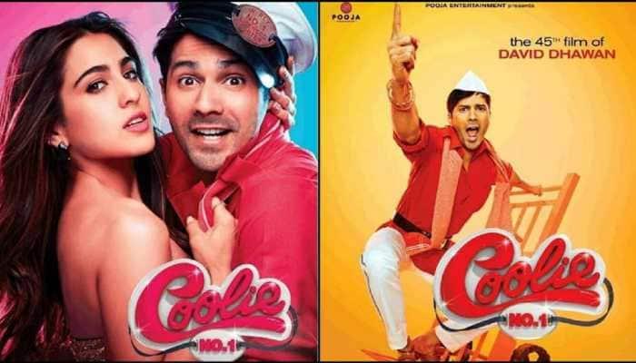 Producer Deepshikha Deshmukh shares Coolie No.1 song stills!