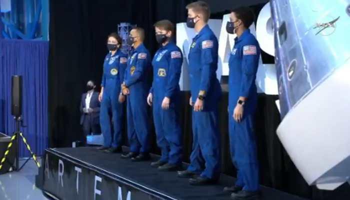 First woman, Indian-American Raja Chari among NASA's 18 astronauts for Artemis Moon mission