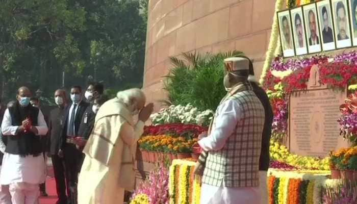 2001 Parliament attack: PM Narendra Modi, President Ram Nath Kovind, leaders pay tribute to martyrs