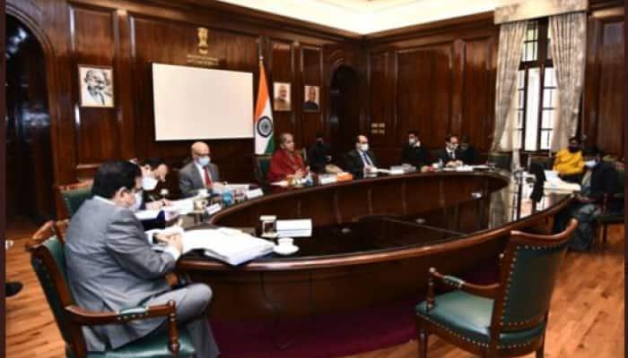 FM Nirmala Sitharaman reviews major macroeconomic developments, financial stability issues