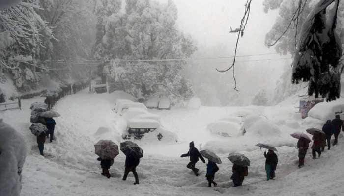 Kashmir records season's coldest night, temperature in Srinagar drops to -6.4°C