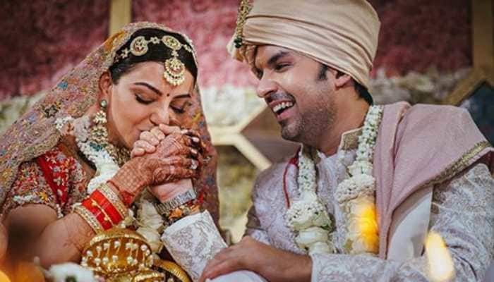 Viral alert: South sensation Kajal Aggarwal and hubby Gautam Kitchlu's unseen 'intertwined' moment is worth a freeze frame!