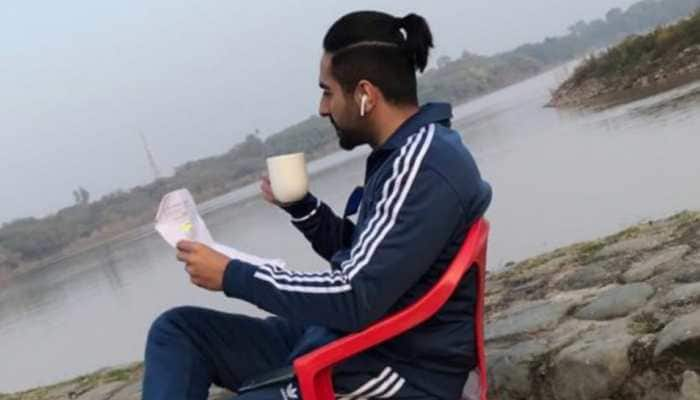 Ayushmann Khurrana shares look from Chandigarh Kare Aashiqui in this BTS picture