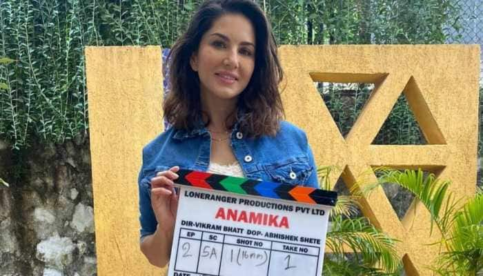 Sunny Leone starts shooting for action-thriller web series 'Anamika'