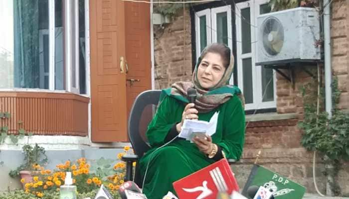 Fight me politically, if you don't have courage then...: Former Jammu and Kashmir CM Mehbooba Mufti challenges BJP