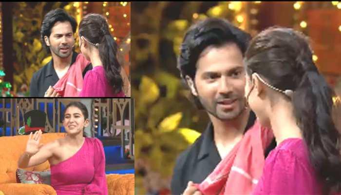 The Kapil Sharma Show: Krushna Abhishek's hilarious act leaves Varun Dhawan, Sara Ali Khan and Jackky Bhagnani in splits - Watch