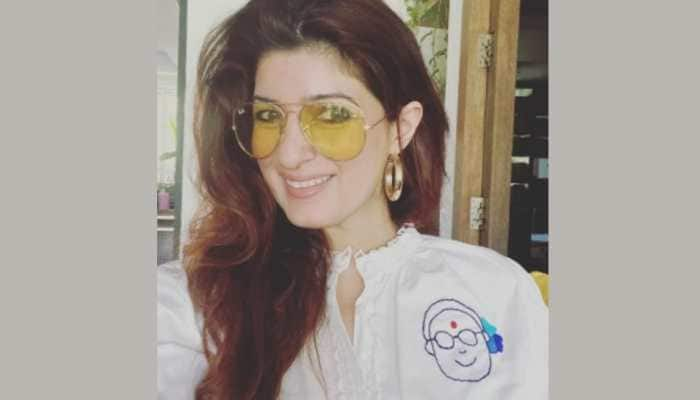 Twinkle Khanna flaunts her embroidery work, describes it as therapy