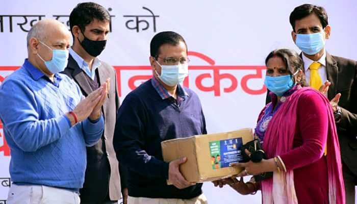 CM Arvind Kejriwal kickstarts mid-day scheme to distribute dry ration kits to 8 lakh Delhi govt school students