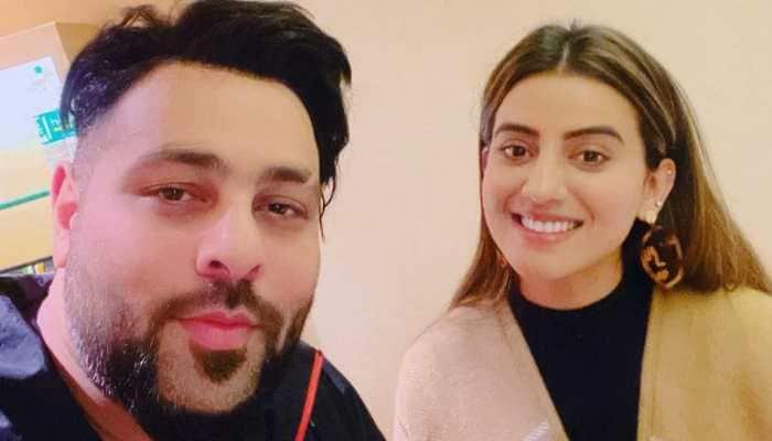 Bhojpuri singer Akshara Singh collaborates with rapper Badshah, check pics