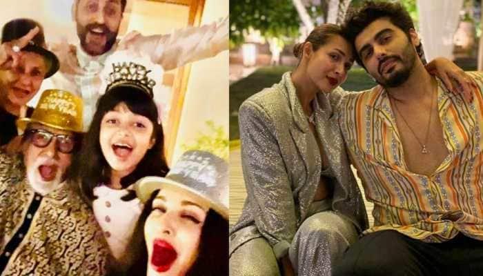 Amitabh Bachchan, Malaika Arora, Aishwarya Rai Bachchan ring in New Year with full gusto, see pics