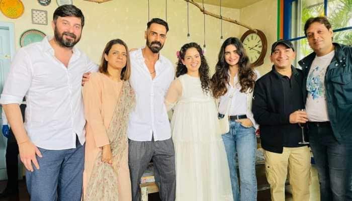 Kangana Ranaut parties with Arjun Rampal, Gabriella Demetriades, Dhaakad team on New Year- Pics inside