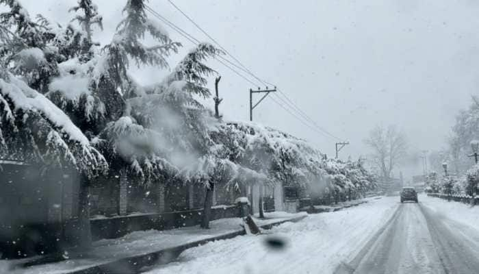 Heavy snowfall in Kashmir disconnects it from country; major highways, air traffic disrupted