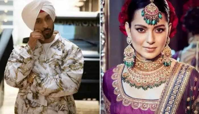 Diljit Dosanjh, Kangana Ranaut engage in another Twitter war, singer wonders this about her