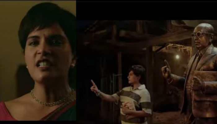 Richa Chadha-starrer, political drama 'Madam Chief Minister' trailer out- Watch