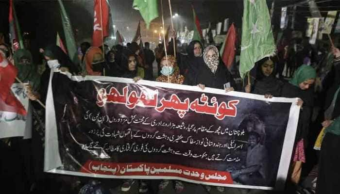 Pakistan's Shia Hazara minority community intensifies protest over Machh slaughter in Balochistan