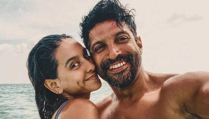 Shibani Dandekar posts special wish for boyfriend Farhan Akhtar on his birthday- Take a look