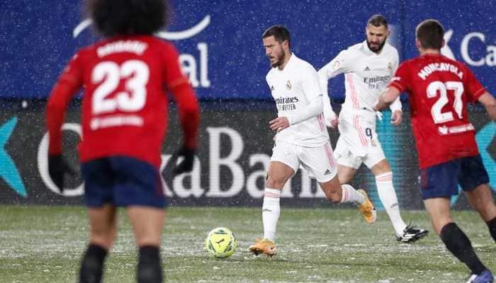 La Liga: Real Madrid frustrated by Osasuna in freezing conditions, Barcelona outclass Granada