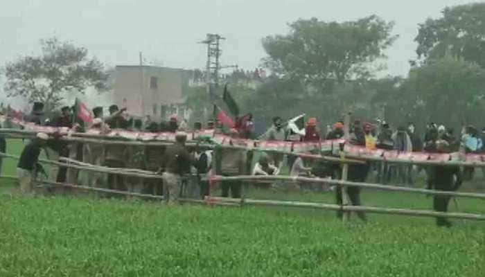 Haryana police use water cannon, teargas shells on protesting farmers ahead of CM Manohar Lal Khattar's Karnal visit