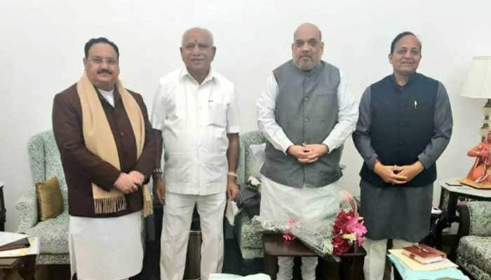 Karnataka CM BS Yediyurappa meets Amit Shah, JP Nadda in Delhi, hints at cabinet expansion soon