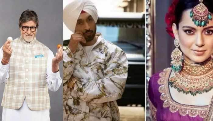 Amitabh Bachchan, Kangana Ranaut, Diljit Dosanjh, other celebs extend Lohri wishes