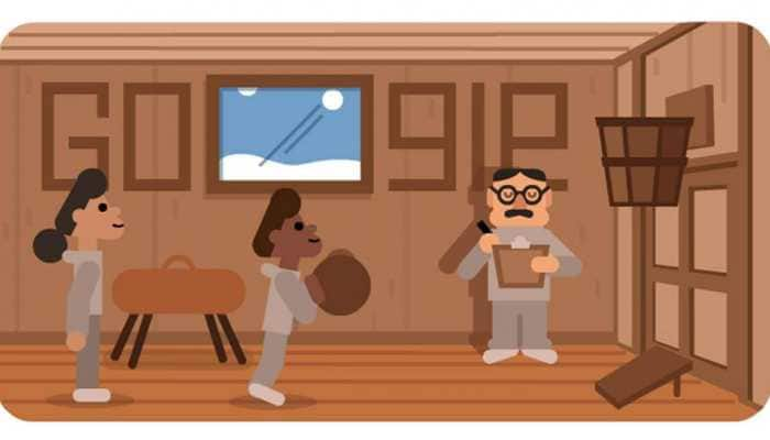 Google doodle honours Dr James Naismith, the man who invented basketball