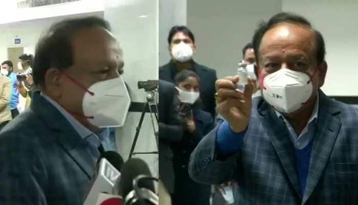 COVID-19 vaccines 'Sanjivani' in fight against pandemic: Health Minister Harsh Vardhan