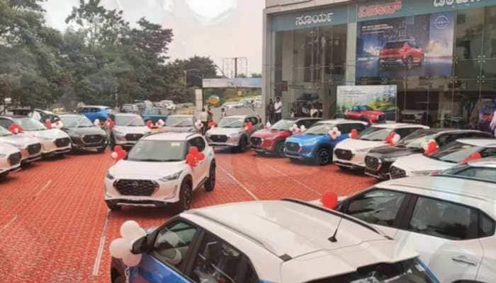 Nissan Dealer in this city delivers 100 units of Magnite in one day, know more