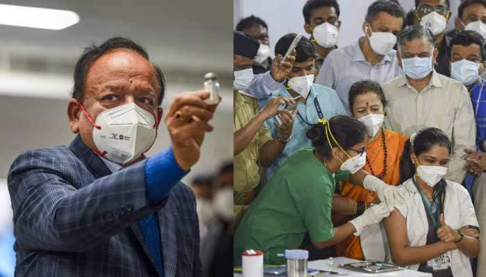 With two Made-in-India vaccines, COVID-19 vaccination drive successfully conducted on Day 1, nearly 2 lakh get shots