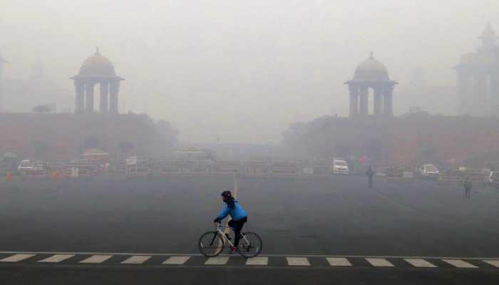 Trains delayed as dense fog engulfs Delhi-NCR region, air quality remains poor