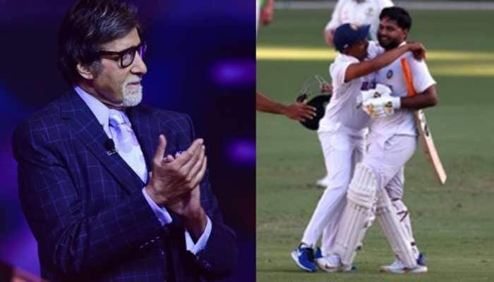 Team India's record-breaking win at Gabba gets a huge shout out from Bollywood: Amitabh Bachchan, Shah Rukh Khan, Akshay Kumar and others laud 'historic win'
