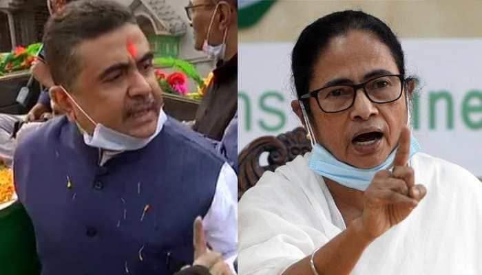 BJP leader Suvendu Adhikari fires fresh salvo at CM Mamata Banerjee over West Bengal assembly election