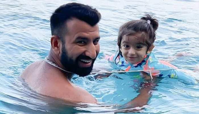 Cheteshwar Pujara's daughter comes up with unique remedy for daddy's Brisbane blows