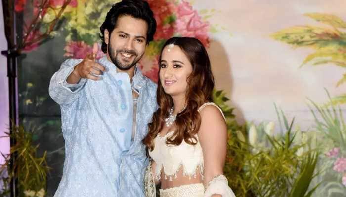 Varun Dhawan, Natasha Dalal wedding update: Couple leave for Alibaug with  family   People News   Zee News