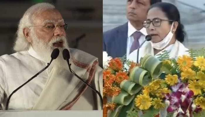 Mamata Banerjee refuses to address Netaji event in Kolkata after crowd shouts 'Jai Sri Ram' slogans in presence of PM Narendra Modi -- Watch