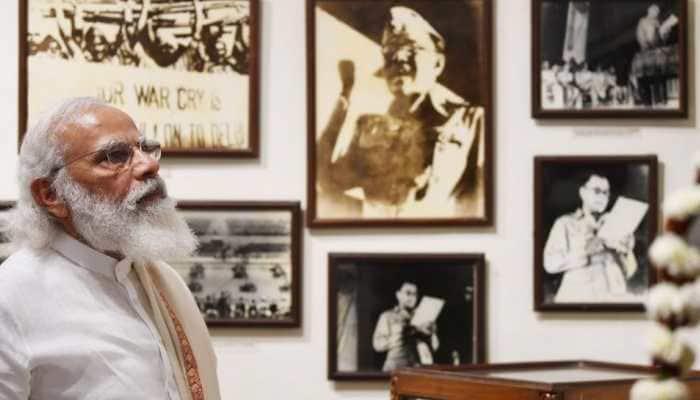 PM Narendra Modi Netaji Bose